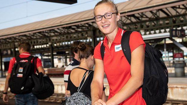 Michaela Hrubá patří k velkým nadějím české atletiky