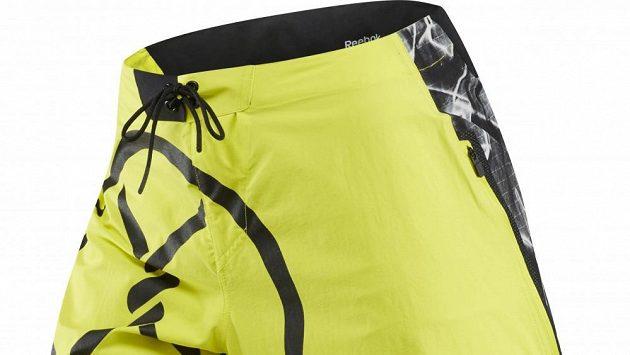 Kraťasy Spartan Pro Mud Short: Krásné, žluté stroje.