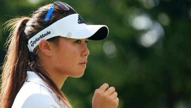 Americká golfistka Danielle Kangová.