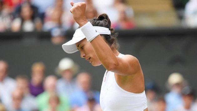 Je to tam! Muguruzaová si podruhé v kariéře zahraje finále Wimbledonu.