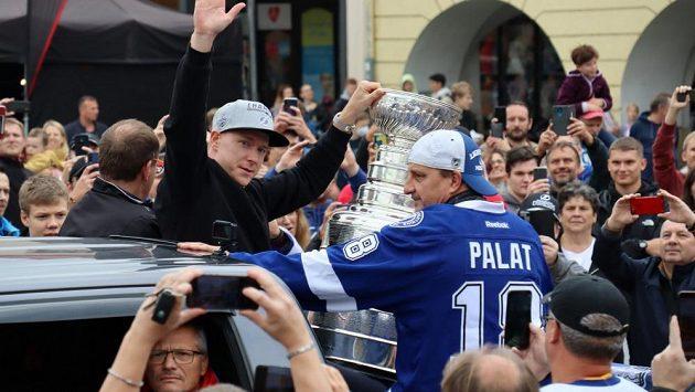 Ondřej Palát přivezl Stanley Cup do Frýdku-Místku