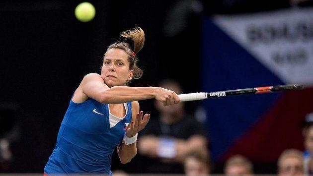 Česká tenistka Barbora Strýcová vyzve vítězku Australian Open.