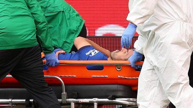 Pedro z Chelsea sobotní finále Anglického poháru s Arsenalem nedohrál.