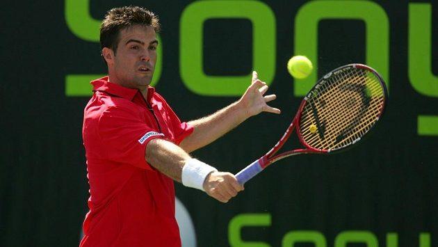 Italský tenista Daniele Bracciali.