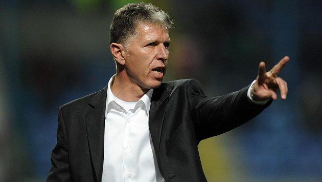 Liberecký trenér Jaroslav Šilhavý.