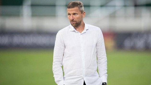 Trenér Bohemians Martin Hašek.
