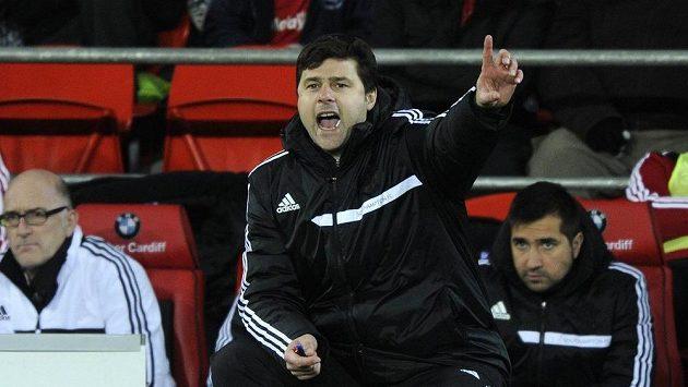 Trenér Southamptonu Mauricio Pochettino
