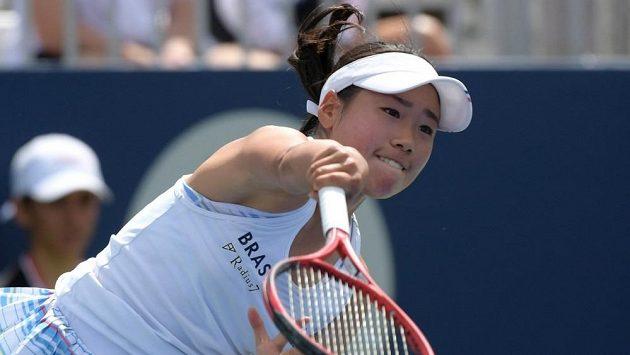 Japonská tenistka Nao Hibinová.