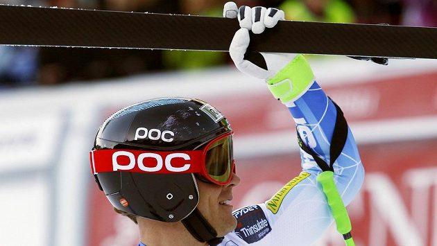Americký lyžař Steven Nyman vyhrál sjezd Světového poháru ve Val Gardeně.