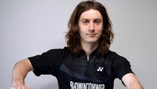 Badmintonový kouč Tomáš Krajča.