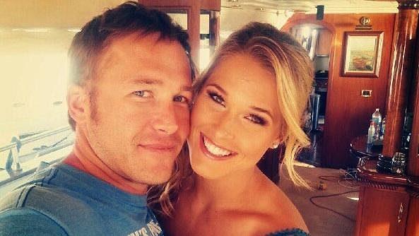 Americký sjezdař Bode Miller a jeho manželka Morgan Becková.