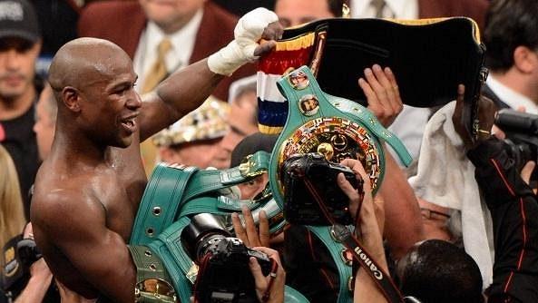 Boxer Floyd Mayweaher je nejlépe placeným sportovcem světa