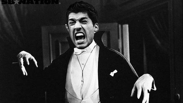 Luis Suárez v hlavní roli remaku Drákula.