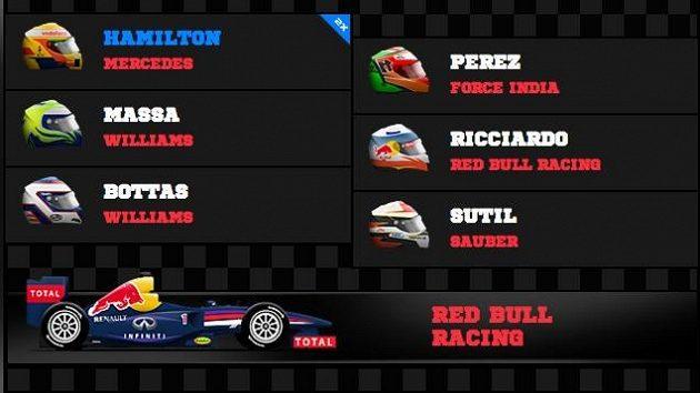 Lewis Hamilton je kapitánem našeho týmu.