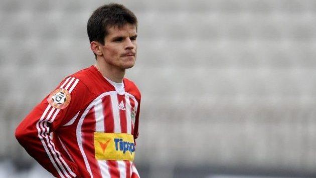 Fotbalista Jiří Sabou ještě v dresu Viktorie Žižkov.