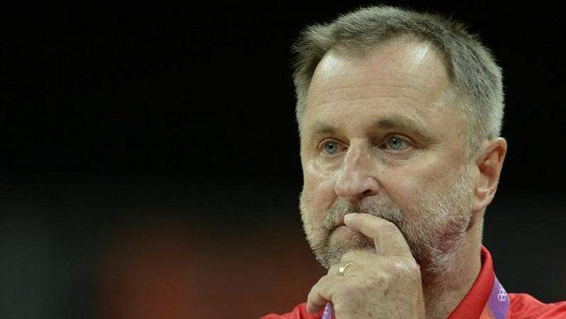 Trenér českých basketbalistek Lubor Blažek po zápase s Chorvatkami běsnil.