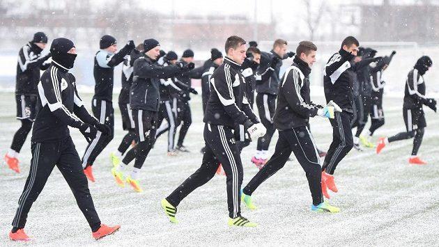 Fotbalisté Karviné polykají první tréninkové dávky zimní přípravy.