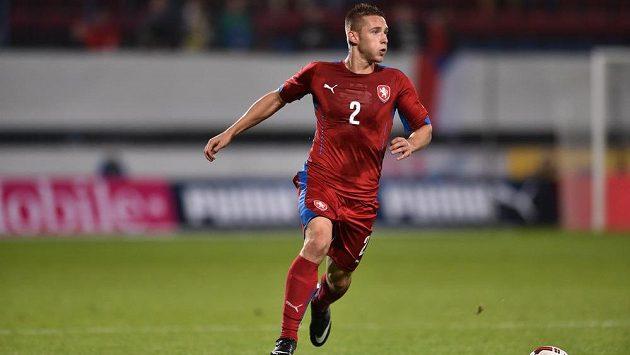 Obránce Pavel Kadeřábek by v reprezentaci rád svedl souboj s nizozemskou hvězdou Arjenem Robbenem.