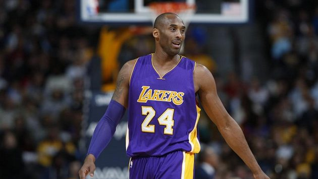 Basketbalista Los Angeles Lakers Kobe Bryant
