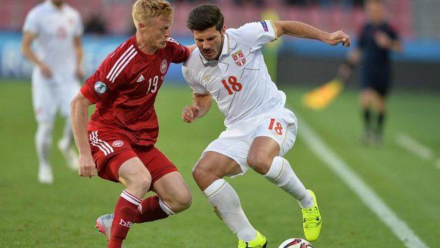 (Vlevo) Jens Jonsson z Dánska a Miloš Jojič ze Srbska.