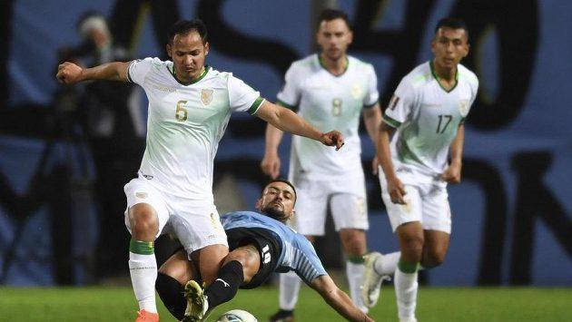 Uruguayci i bez Suáreze a Cavaniho v kvalifikaci MS porazili Bolívii
