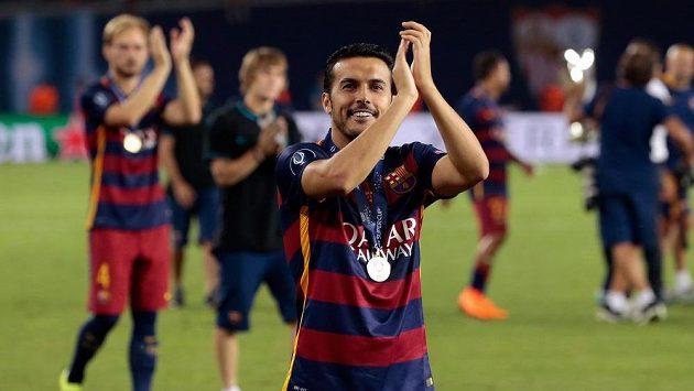 Pedro Rodríguez se loučí s fanoušky Barcelony s medailí na krku. Nadobro?