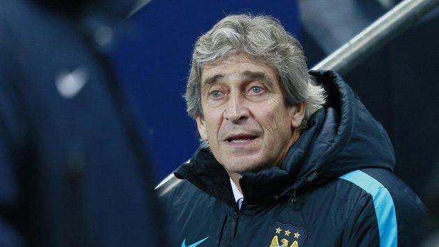 Chilský trenér Manchesteru City Manuel Pellegrini.