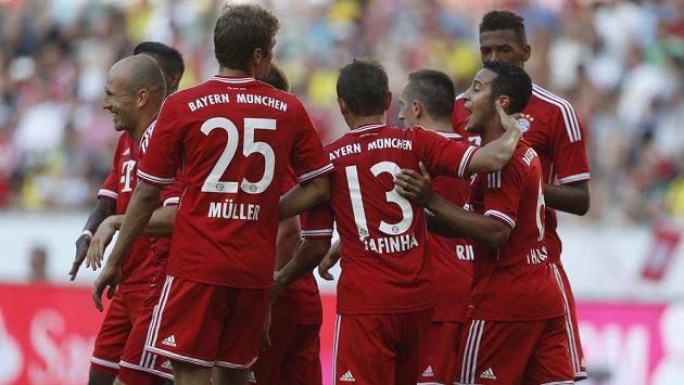 Fotbalisté Bayernu Mnichov budou v bundeslize obhajovat titul.