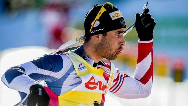 Francouzský biatlonista Martin Fourcade ovládl také závod v Soči.