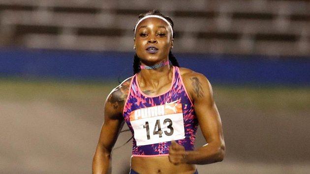 Jamajská sprinterka Elaine Thompsonová.