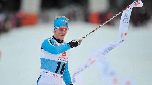 Vítěz Morten Eide Pedersen z Norska.