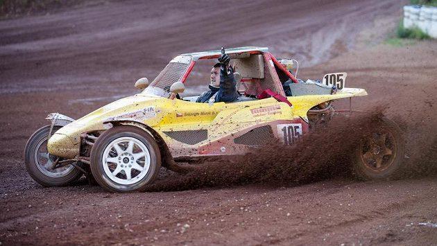 Vítěz v divizi Buggy 1600 Marek Sekanina.