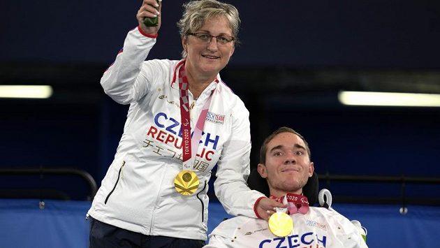 Adam Peška vyhrál na paralympijských hrách v Tokiu turnaj v boccii