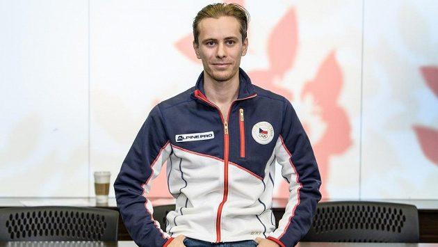 Krasobruslař Michal Březina před ZOH 2018 v Pchjongčchangu.