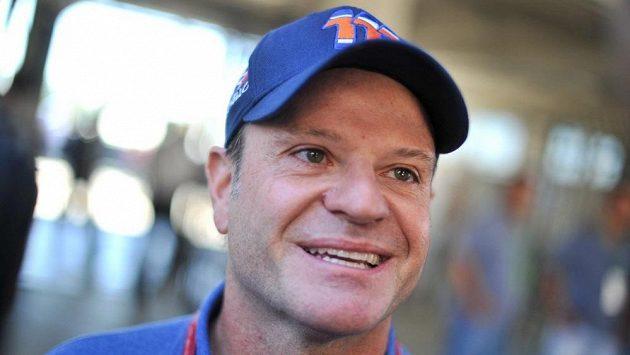 Bývalý pilot formule 1 Rubens Barrichello.