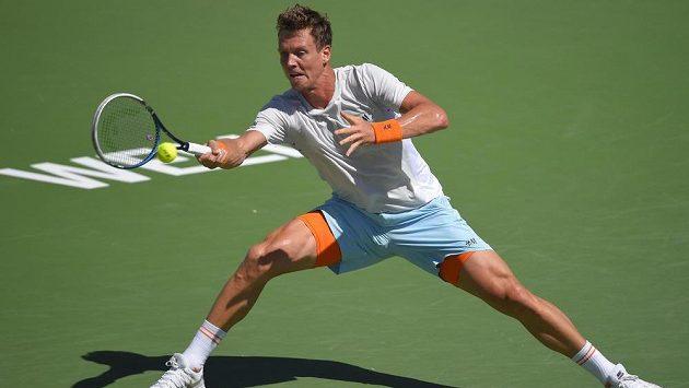 Tomáš Berdych v Indian Wells na Rogera Federera nestačil.