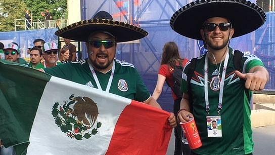 Hrdost mexických fanoušků na jejich národní tým je obrovská.