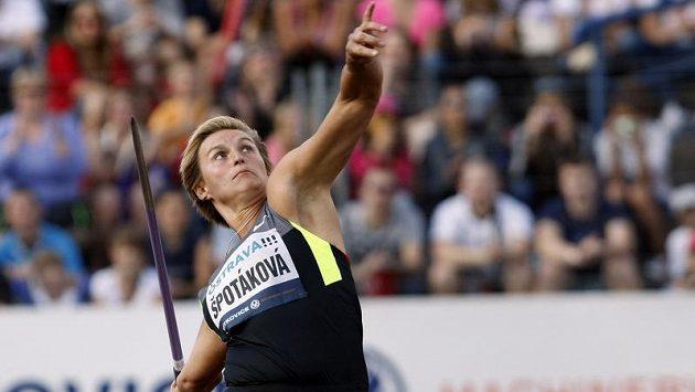 Barbora Špotáková skončila v Londýně druhá.