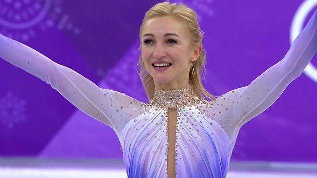Olympijská vítězka v soutěži sportovních dvojic Aljona Savchenková je těhotná.