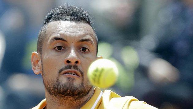 Australský tenista Nick Kyrgios.