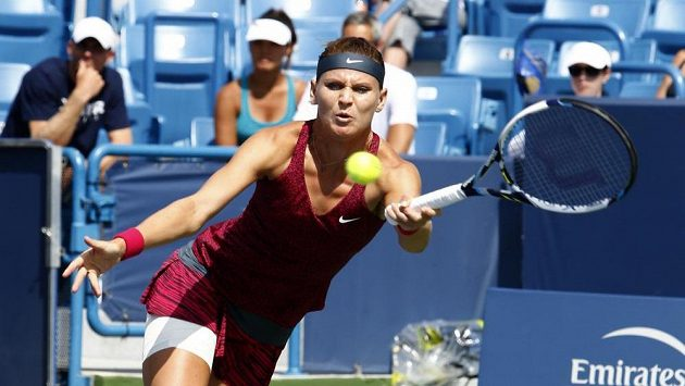 Lucie Šafářová v Cincinnati přehrála Venus Williamsovou.