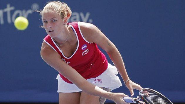 Karolína Plíšková vypadla na US Open hned v prvním kole.