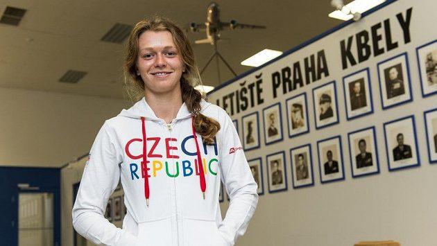 Vodní slalomářka Amálie Hilgertová.