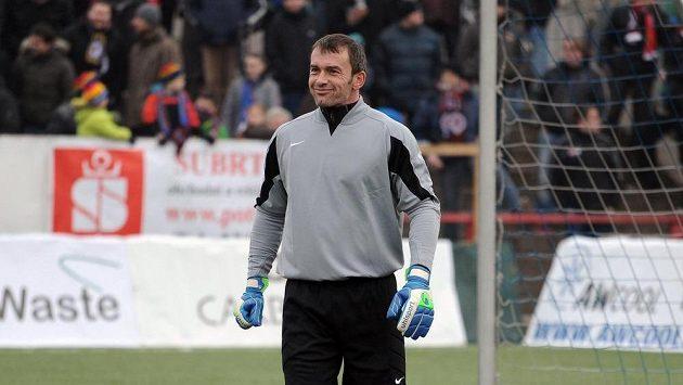 Jaromír Blažek během tradičního Silvestrovského derby mezi týmy AC Sparta Praha a SK Slavia Praha.