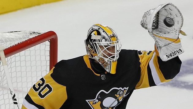 Brankář Pittsburghu Penguins Matt Murray.