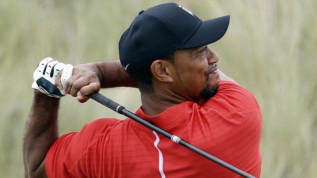 Tiger Woods na snímku ze 4. prosince 2016 při turnaji v Nassau.