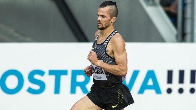 Mílař Jakub Holuša během atletického mítinku Zlatá tretra 2016.