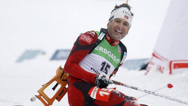 Norský biatlonista Ole Einar Björndalen.