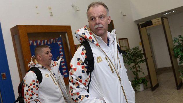 Šéftrenér Českého svazu ledního hokeje Slavomír Lener.