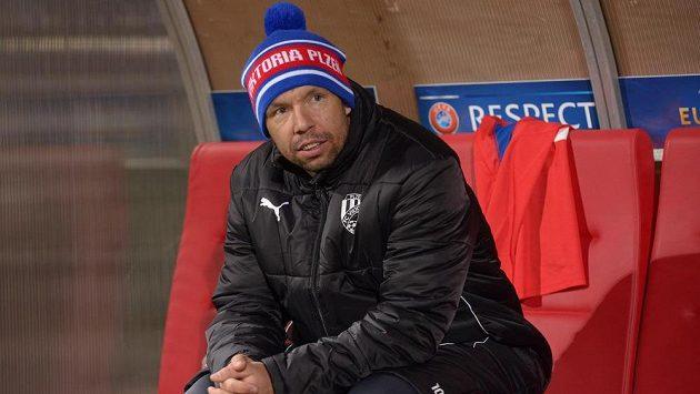 Záložník Viktorie Plzeň Pavel Horváth si na jaře několikrát musel sednout na lavičku náhradníků.